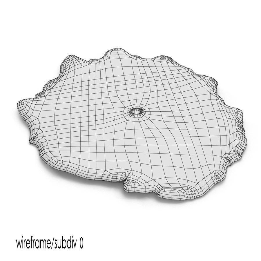 黄色Discosoma蘑菇珊瑚 royalty-free 3d model - Preview no. 9