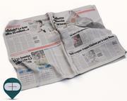 报纸Corriere Sport 21 3d model
