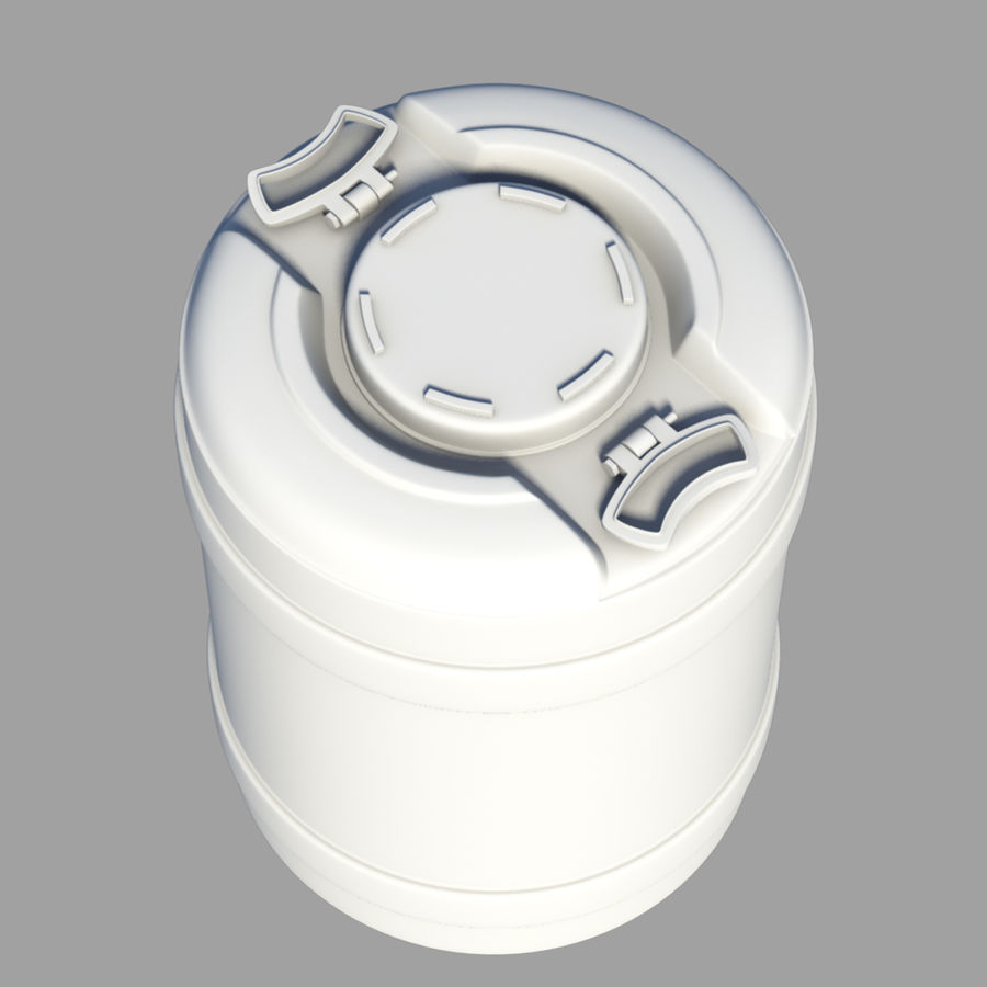 water container medium royalty-free 3d model - Preview no. 2