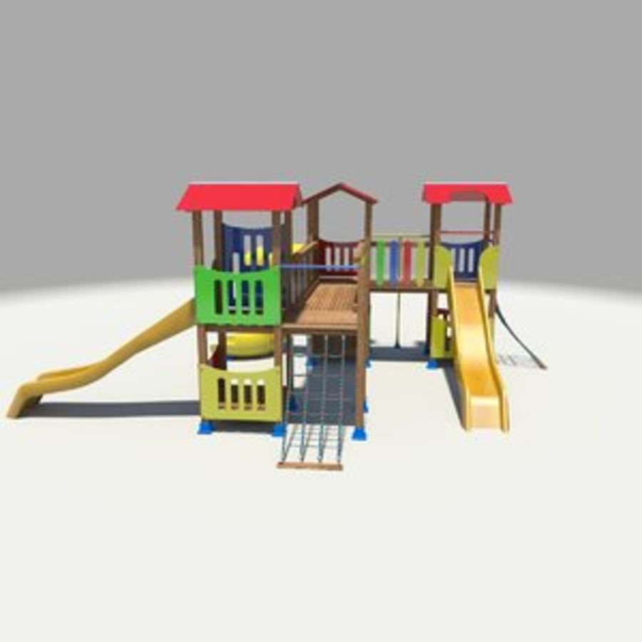 Playground royalty-free 3d model - Preview no. 1