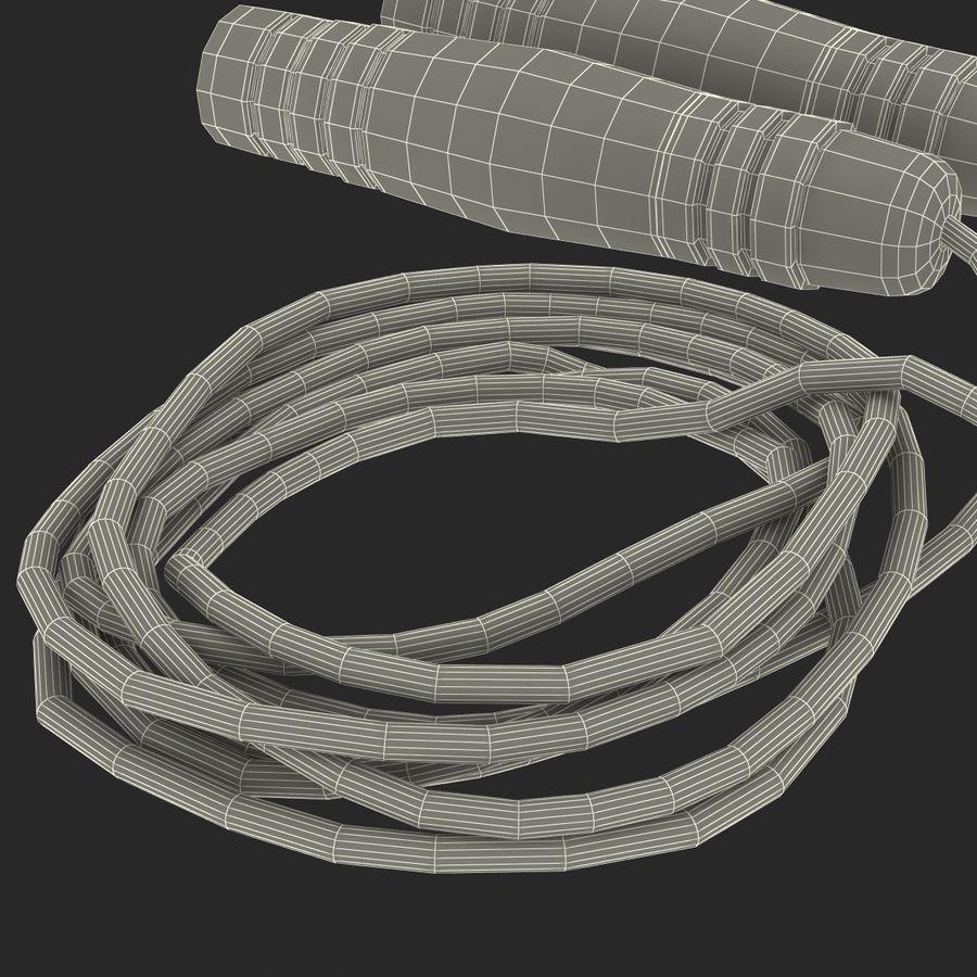 Övning hoppa repet royalty-free 3d model - Preview no. 22