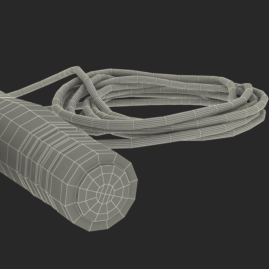 Övning hoppa repet royalty-free 3d model - Preview no. 24