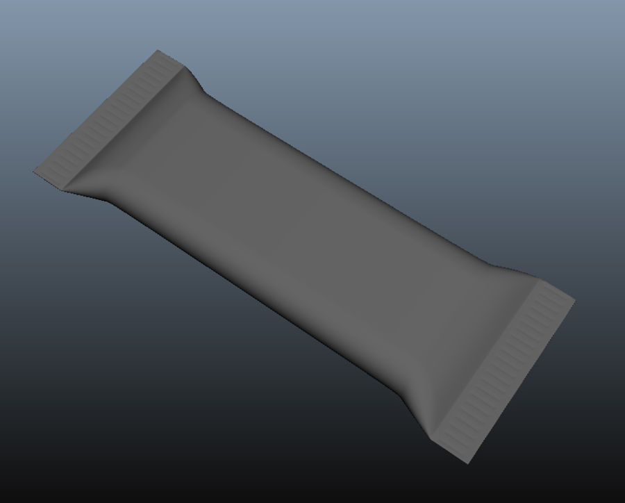 Chocolate Package royalty-free 3d model - Preview no. 3