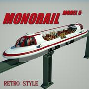 Monorail Model 5 3d model