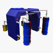 automatic car wash 3d model
