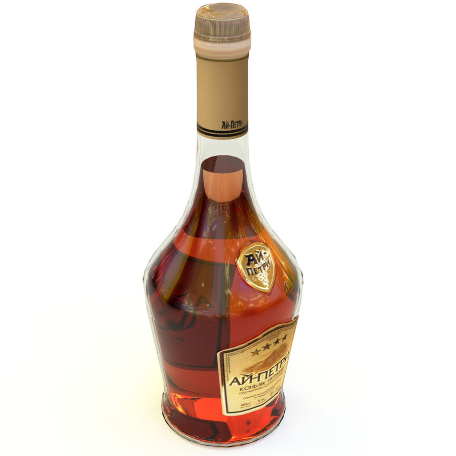 Cognac royalty-free 3d model - Preview no. 1