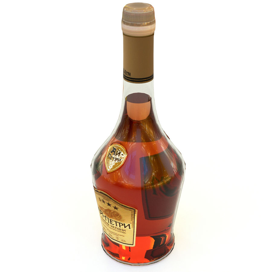 Cognac royalty-free 3d model - Preview no. 2