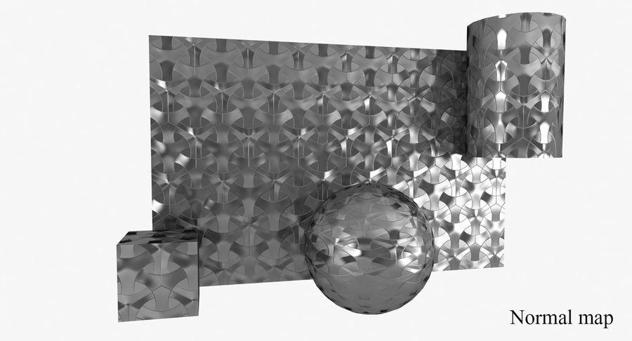 3D墙板4 royalty-free 3d model - Preview no. 11