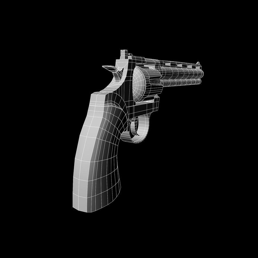 Colt pyton royalty-free 3d model - Preview no. 14