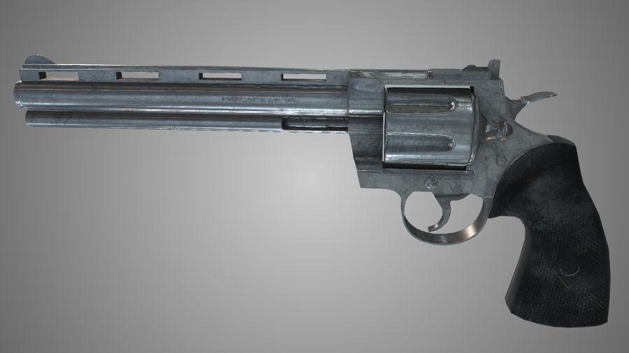 Colt pyton royalty-free 3d model - Preview no. 5