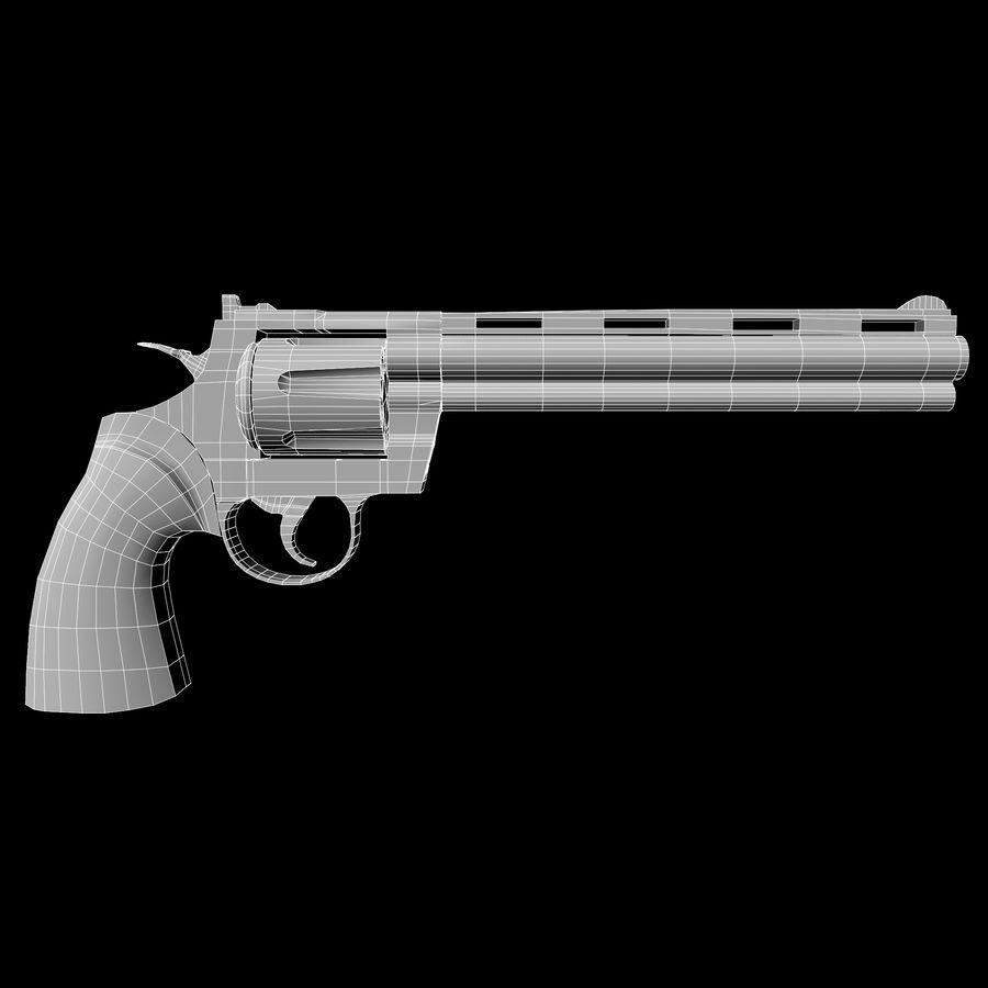 Colt pyton royalty-free 3d model - Preview no. 13