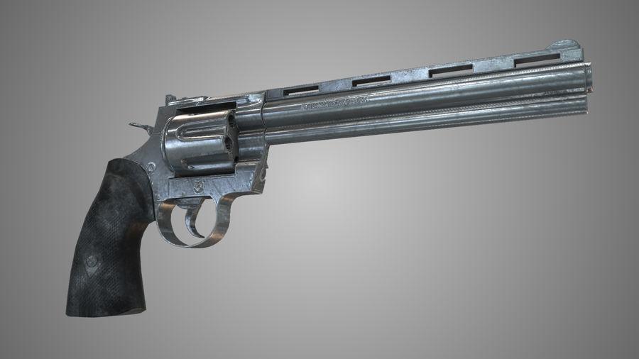 Colt pyton royalty-free 3d model - Preview no. 2