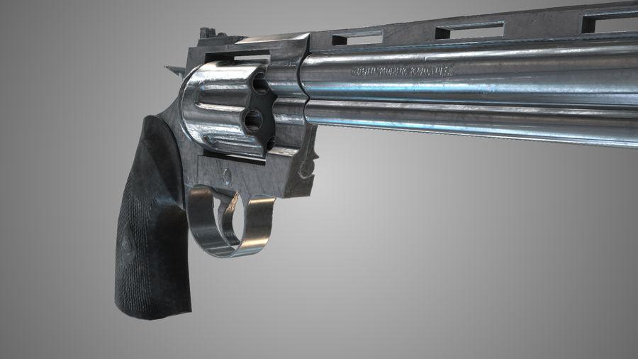 Colt pyton royalty-free 3d model - Preview no. 7
