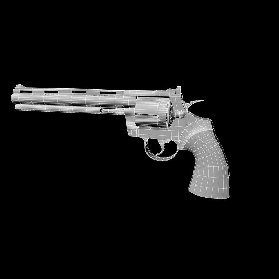 Colt pyton royalty-free 3d model - Preview no. 11