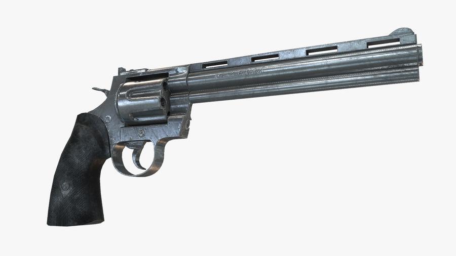Colt pyton royalty-free 3d model - Preview no. 1