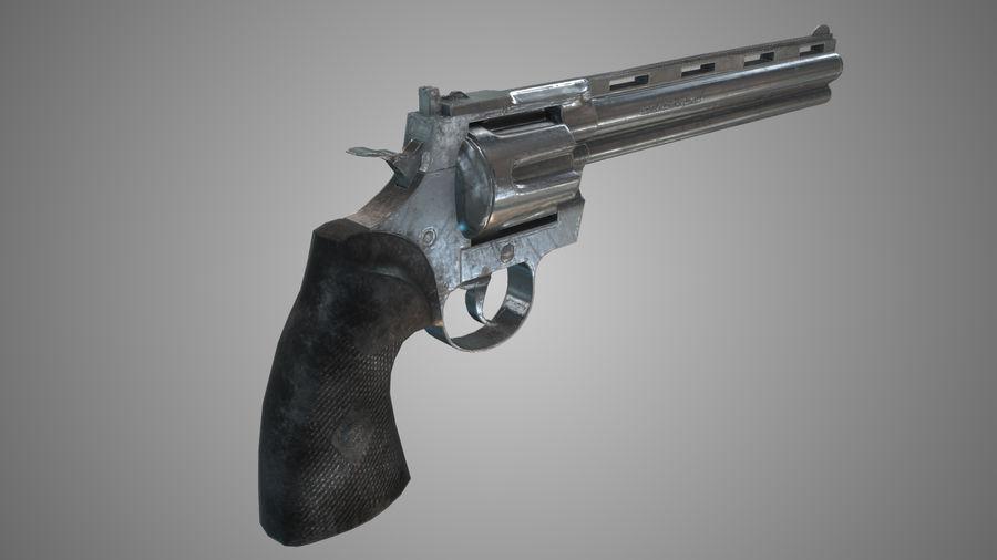 Colt pyton royalty-free 3d model - Preview no. 4