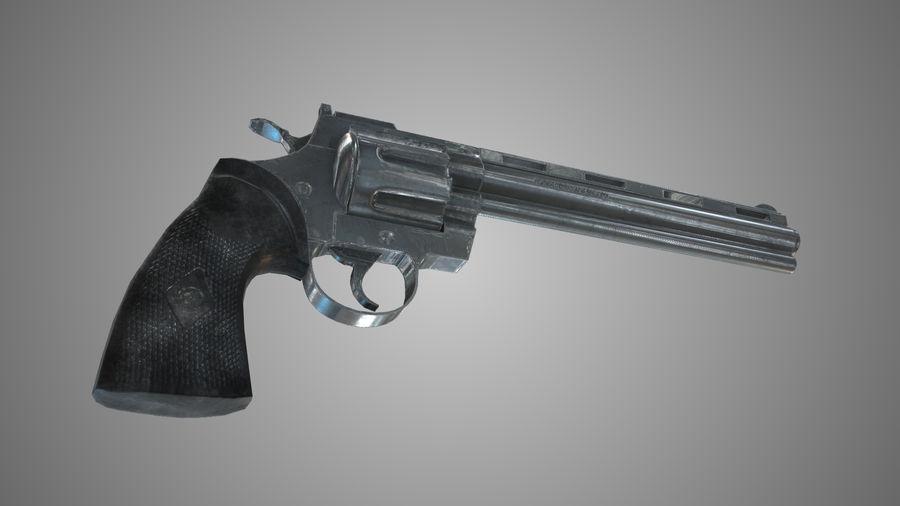 Colt pyton royalty-free 3d model - Preview no. 6