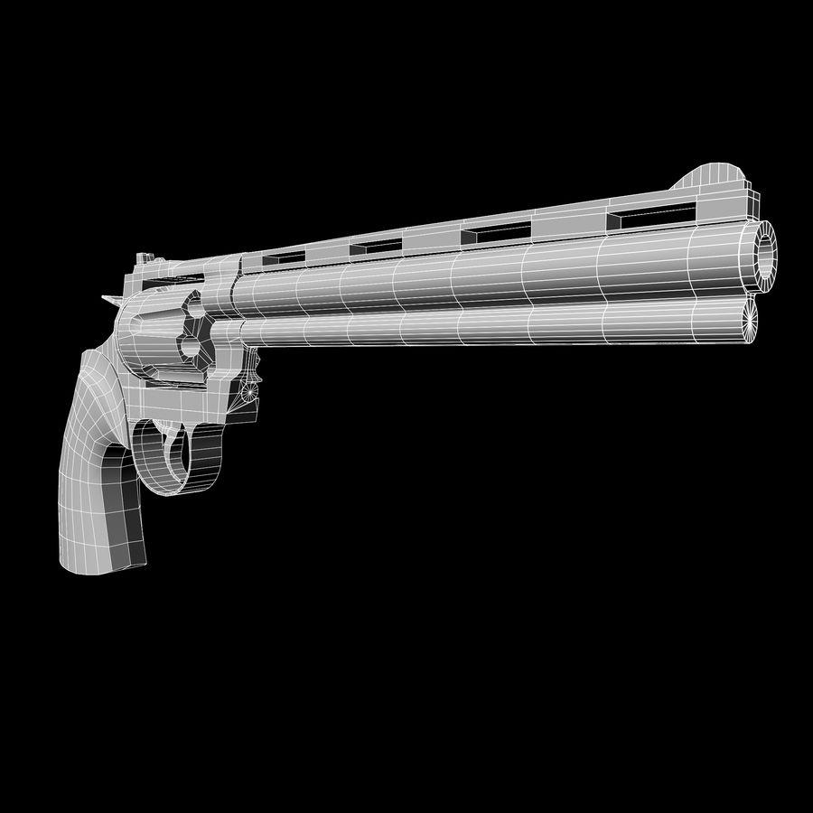 Colt pyton royalty-free 3d model - Preview no. 12