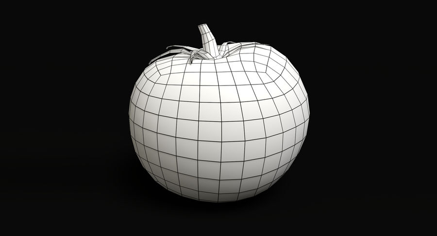Tomato royalty-free 3d model - Preview no. 6