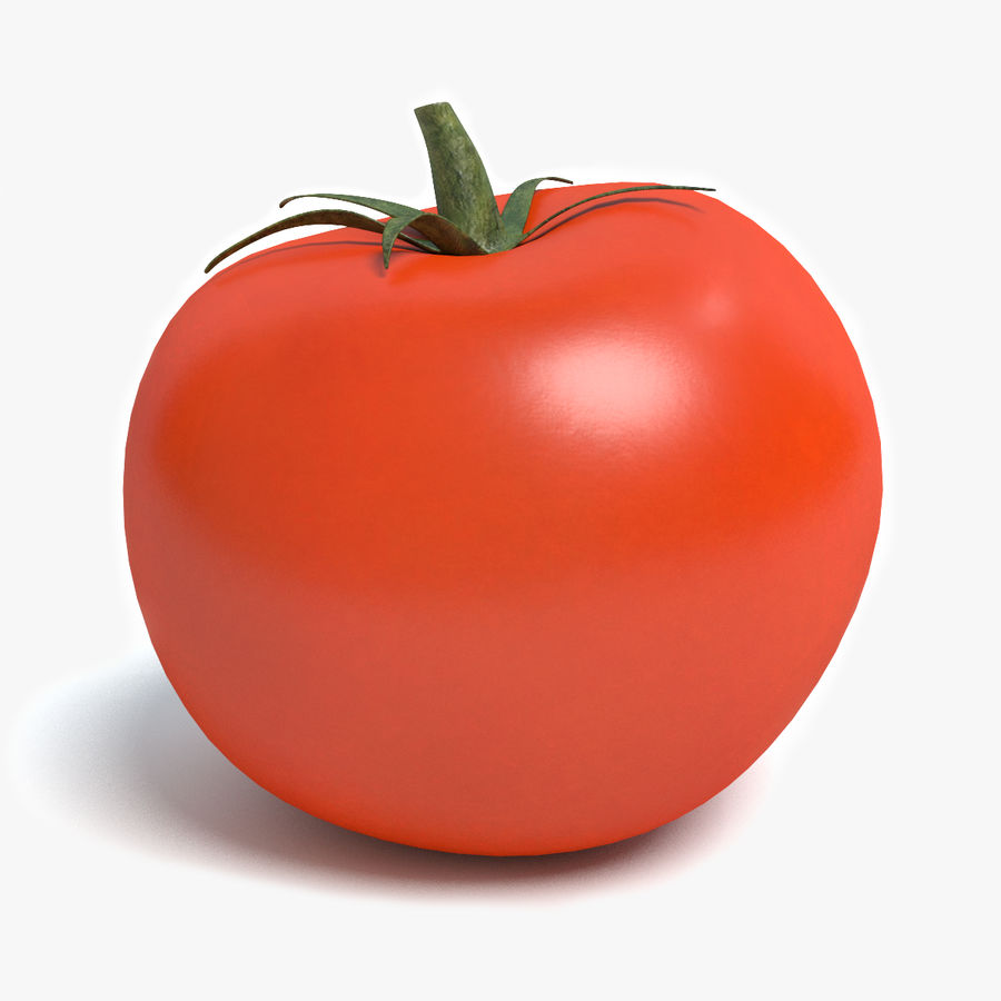 Tomato royalty-free 3d model - Preview no. 1