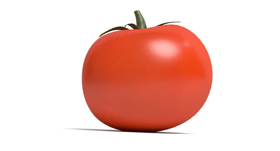 Tomato royalty-free 3d model - Preview no. 4