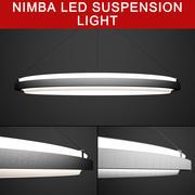Nimba LED Sarkıt - 4 BOYUT 3d model
