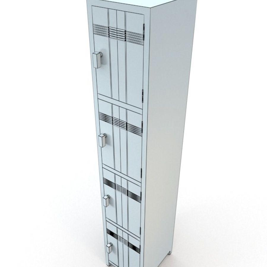 Szafka royalty-free 3d model - Preview no. 4
