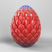 Robot Dragon Egg 3d model