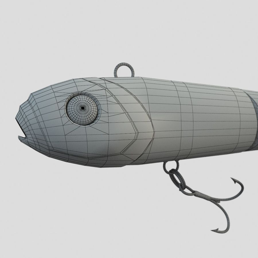 Lure(1) royalty-free 3d model - Preview no. 15