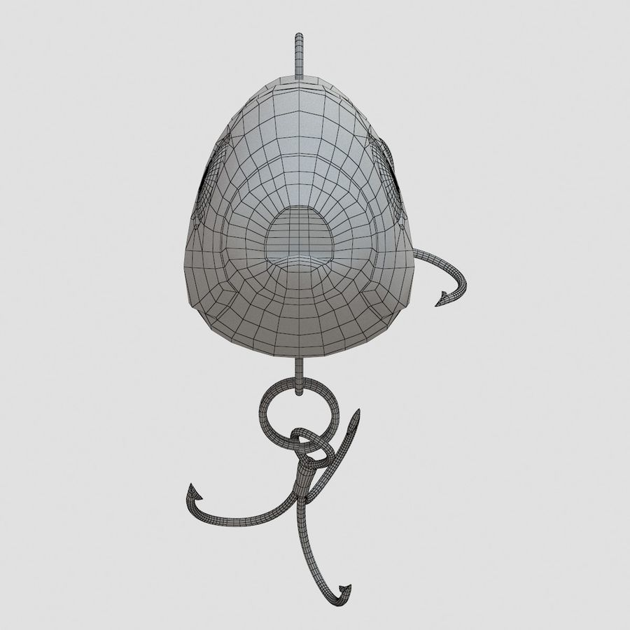 Lure(1) royalty-free 3d model - Preview no. 20