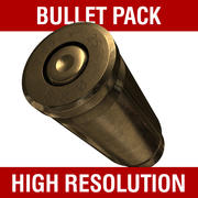 Bullet Collection Pack 3d model