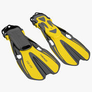 Head Volo One Flippers 01 3d model