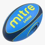 Pelota de rugby Mitre 2 modelo 3d