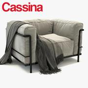 LC3户外CASSINA 3d model