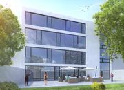 Exterior Building Scene 3d model