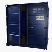 8-stopowy pojemnik do przechowywania 3d model