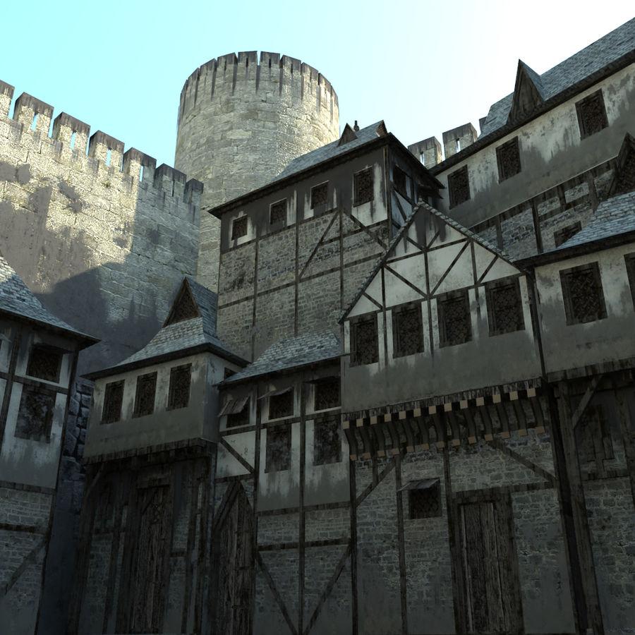 Castle royalty-free 3d model - Preview no. 5