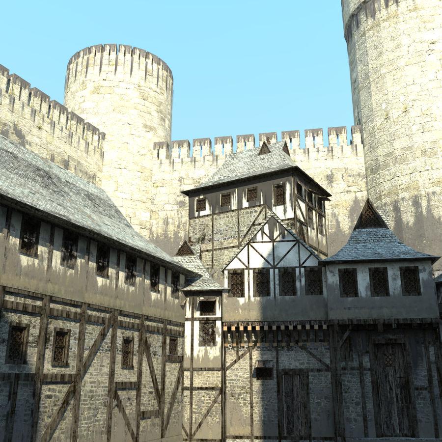 Castle royalty-free 3d model - Preview no. 6