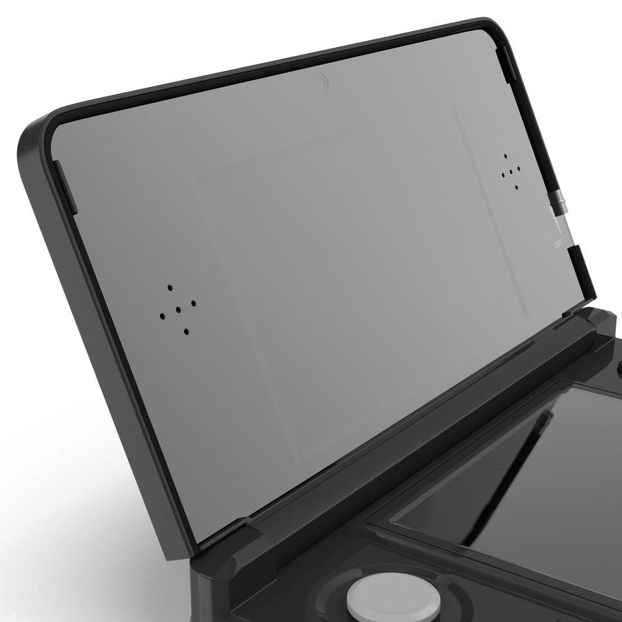 Nintendo 3DS Black royalty-free 3d model - Preview no. 23