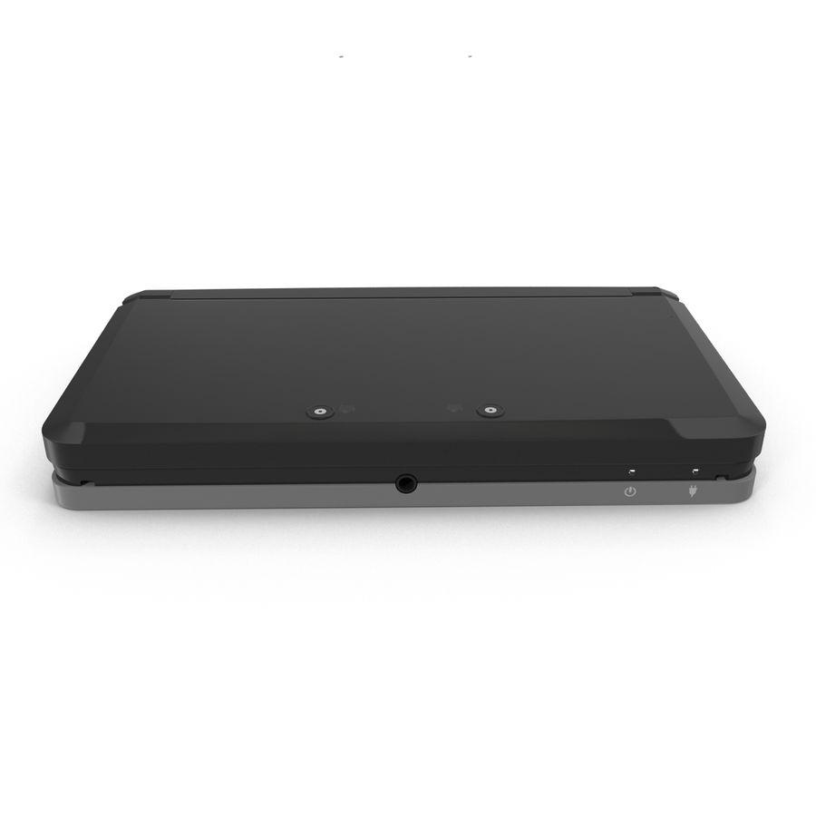 Nintendo 3DS Black royalty-free 3d model - Preview no. 16