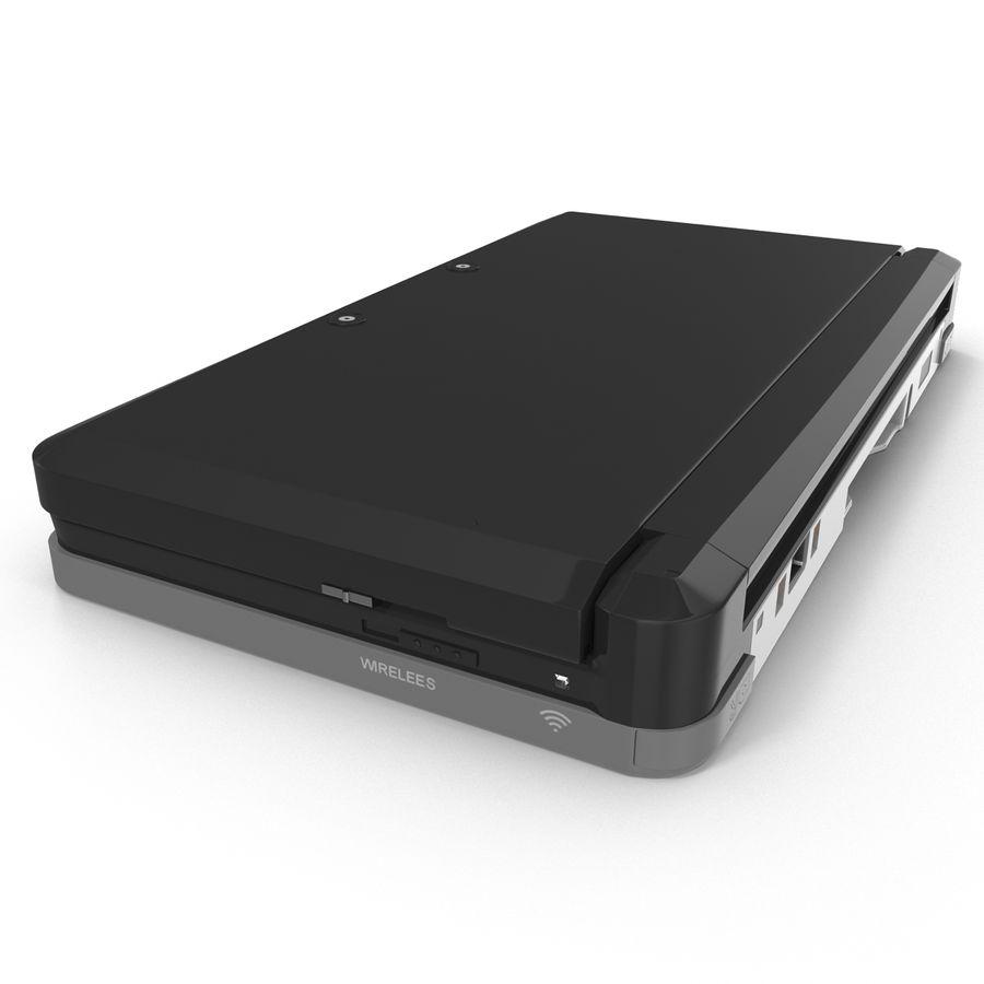 Nintendo 3DS Black royalty-free 3d model - Preview no. 18