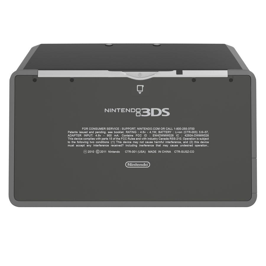 Nintendo 3DS Black royalty-free 3d model - Preview no. 14