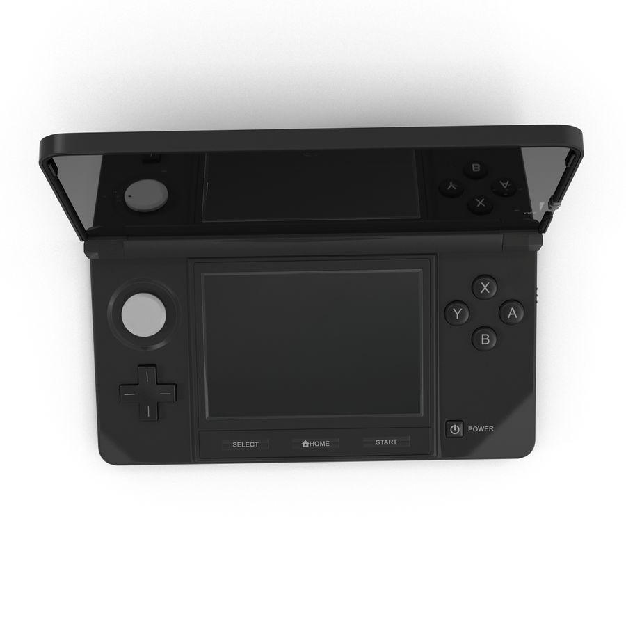 Nintendo 3DS Black royalty-free 3d model - Preview no. 6