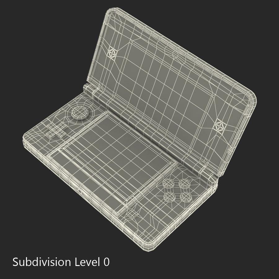 Nintendo 3DS Black royalty-free 3d model - Preview no. 25