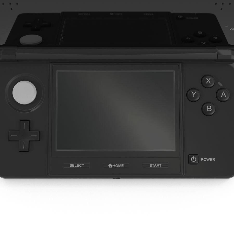 Nintendo 3DS Black royalty-free 3d model - Preview no. 22