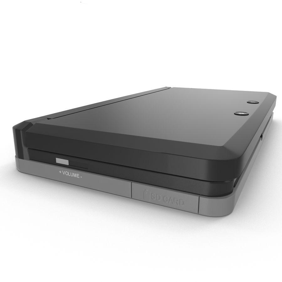 Nintendo 3DS Black royalty-free 3d model - Preview no. 17
