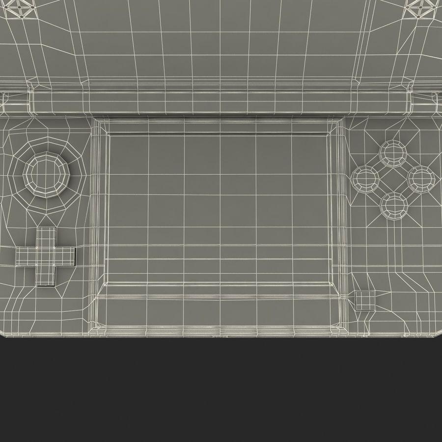 Nintendo 3DS Black royalty-free 3d model - Preview no. 36