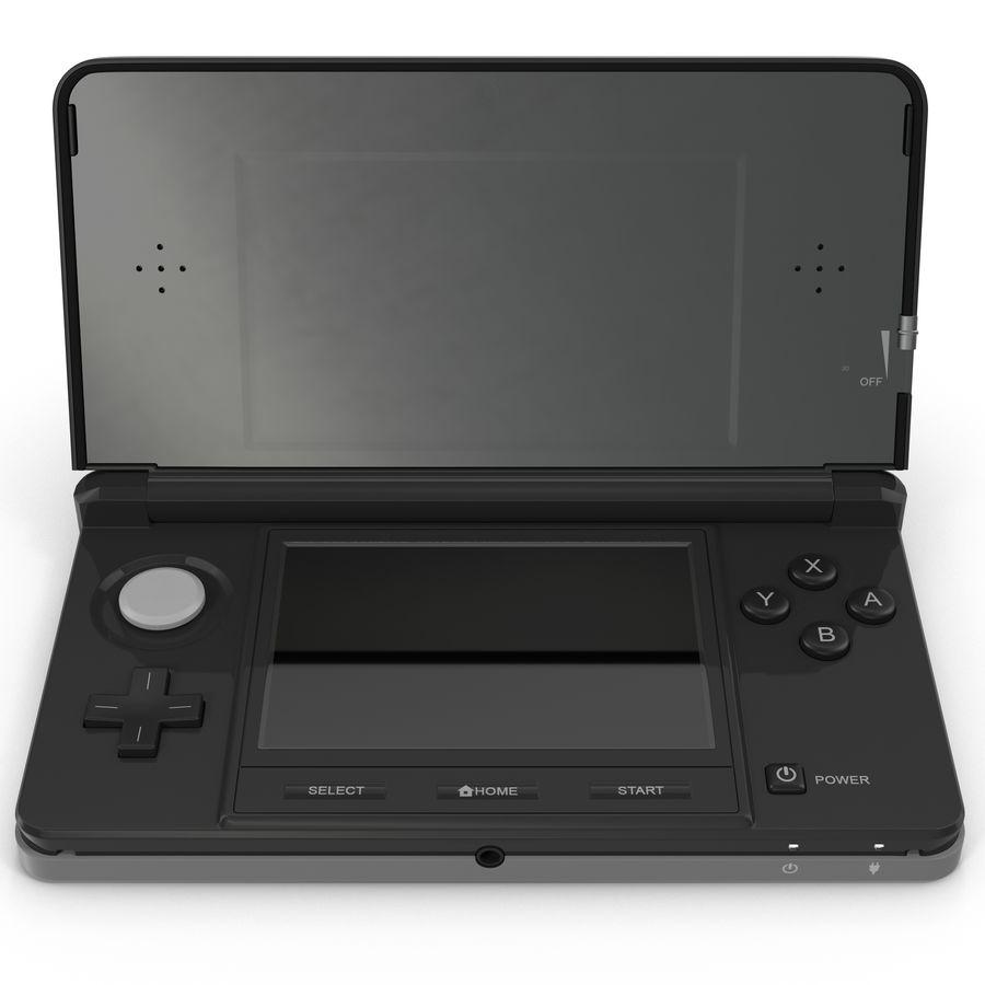 Nintendo 3DS Black royalty-free 3d model - Preview no. 2