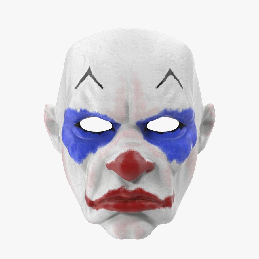Clown Mask royalty-free 3d model - Preview no. 1