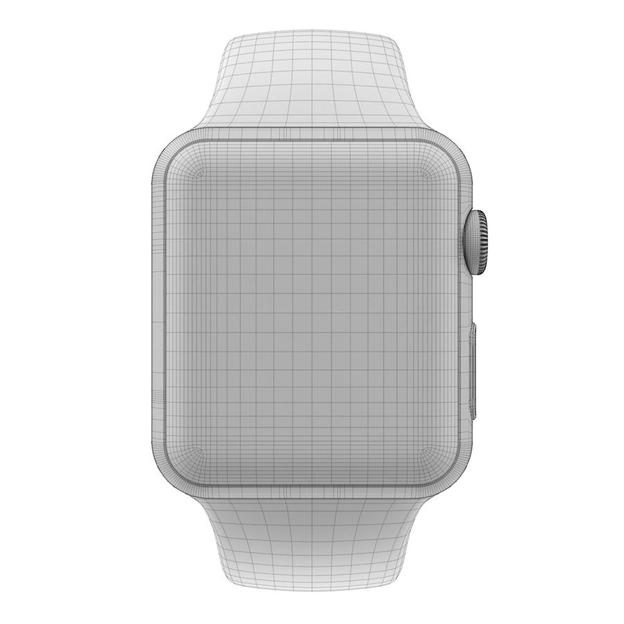 Apple Watch SPORT 42mm (SALE! LIMITED TIME ONLY!) royalty-free 3d model - Preview no. 6